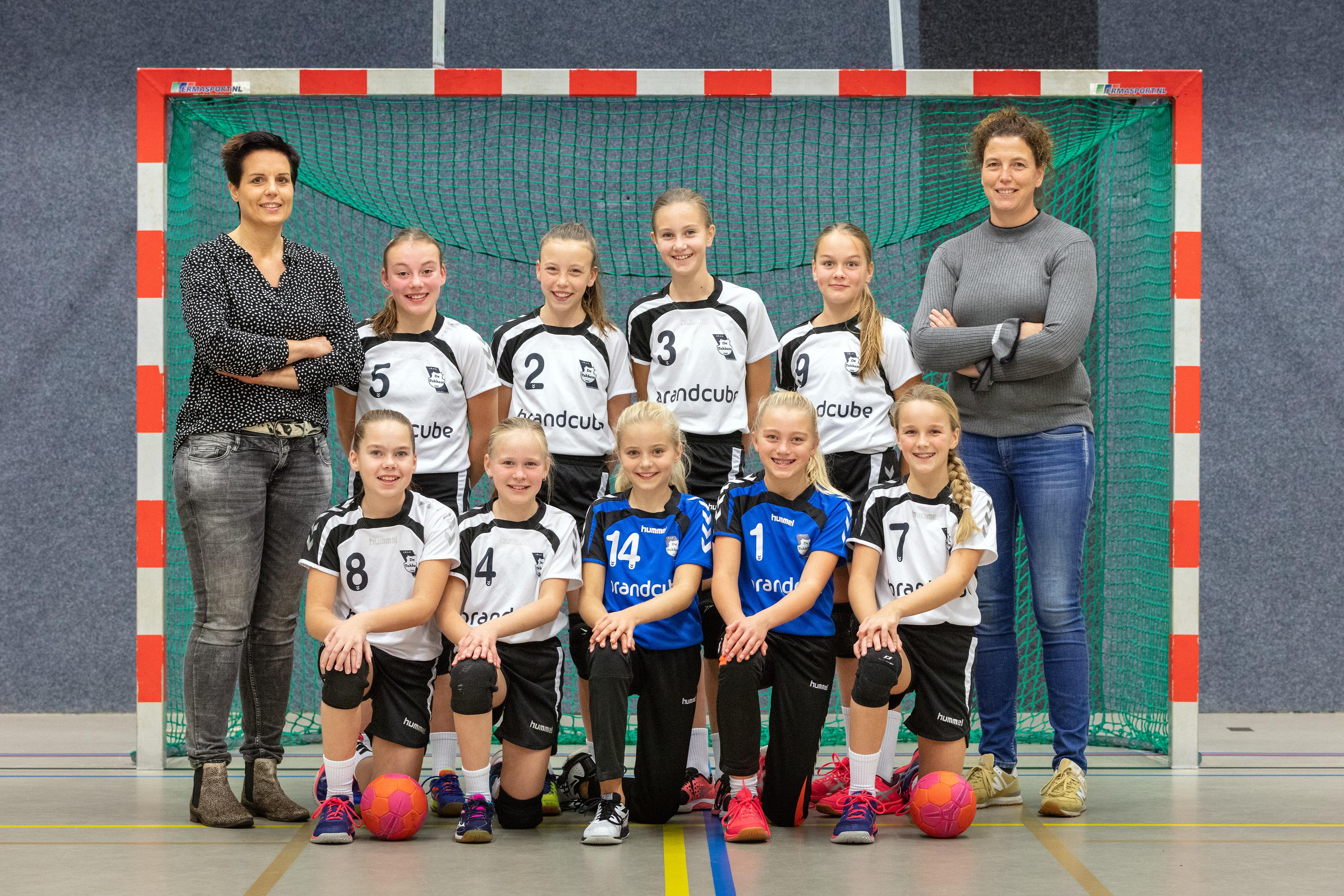 De Tukkers Handbal Meisjes D1